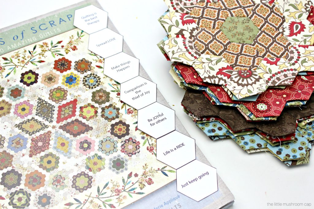 Free Printable Hexagon English Paper Piecing Template The Little Magnificent Paper Piecing Patterns Free Printables