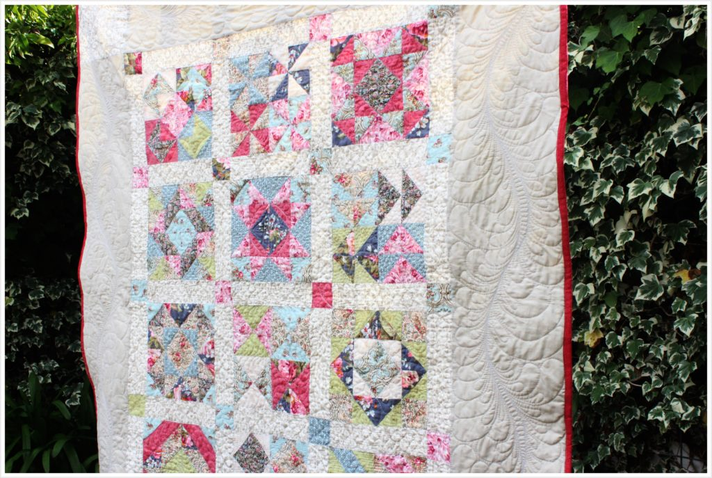 Feather Quilting Tutorial Free Printable Template The