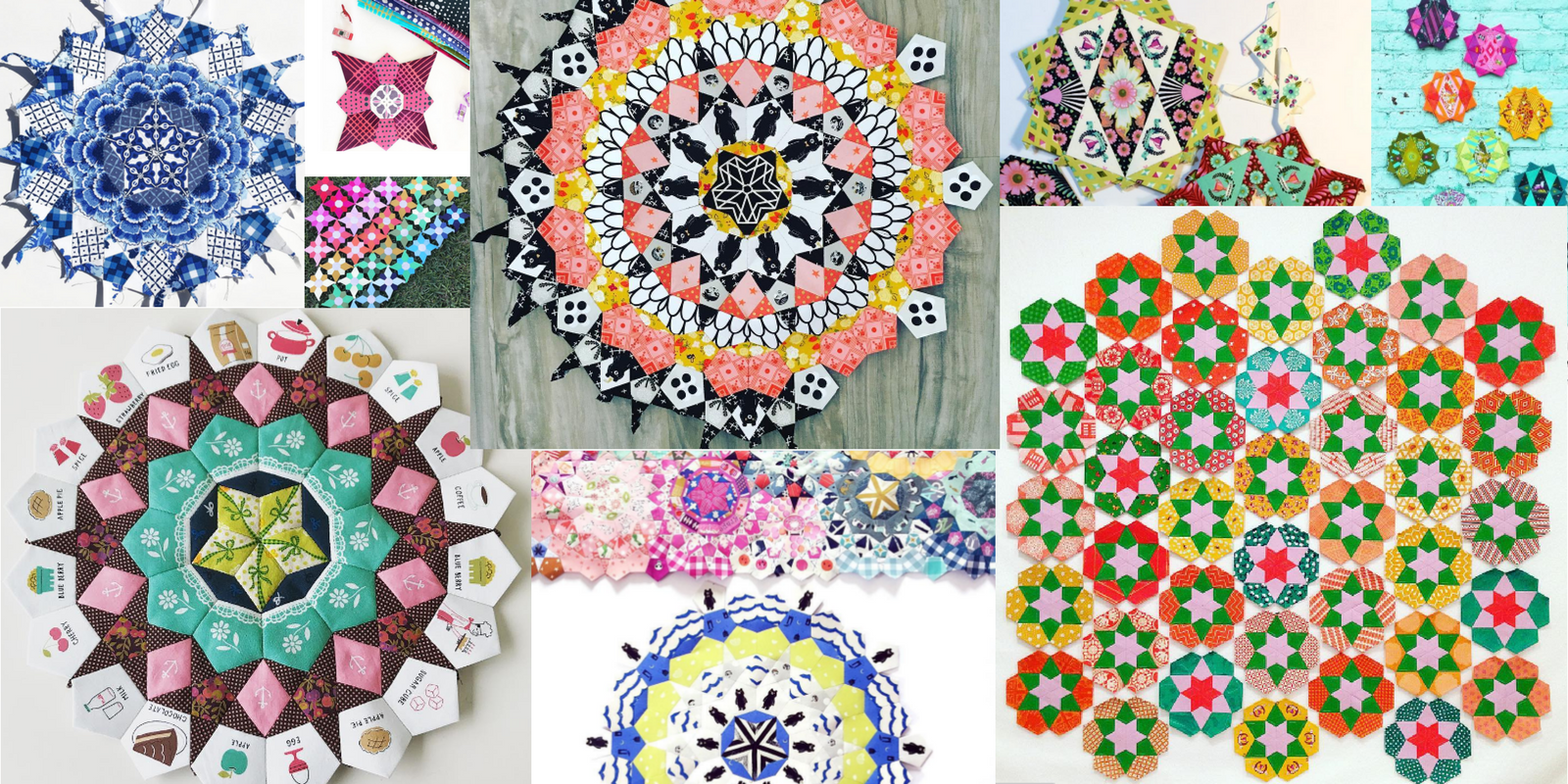 English Paper Piecing Hot Quilting Trend The Little